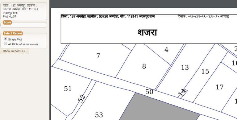 up shajra map 2