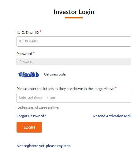 applicant login