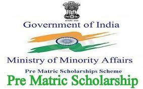 Pre Matric Scholarships Scheme