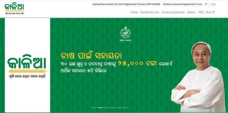 Odisha Kalia Yojana