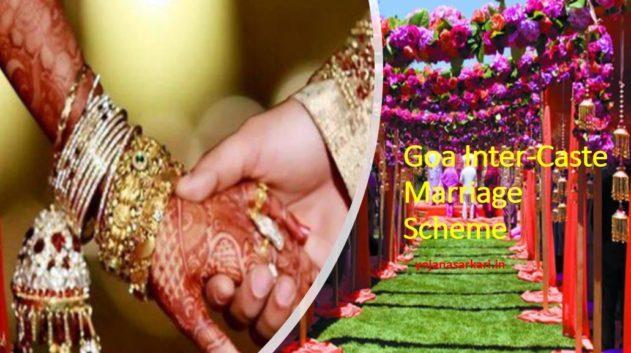 Goa Inter-Caste Marriage Scheme