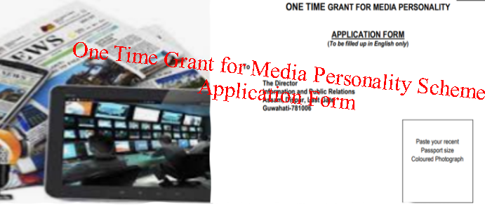 One Time Grant for Media Personality Scheme