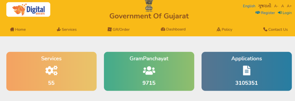 Gujarat Digital Seva Setu Yojana