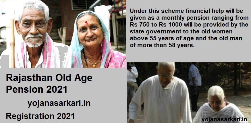 Rajasthan Old Age Pension 2021