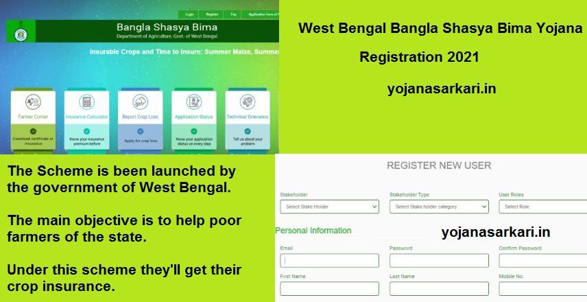 West Bengal Bangla Shasya Bima Yojana