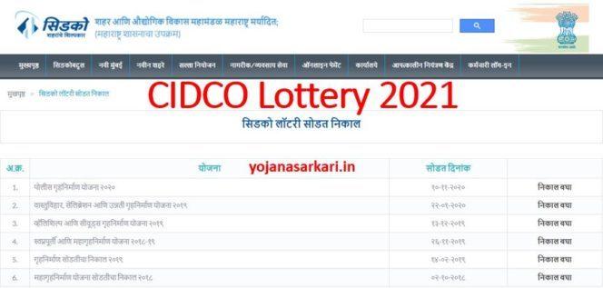 CIDCO Lottery