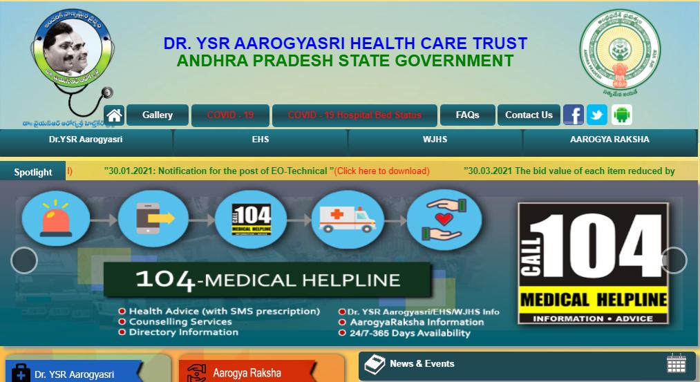 AP Aarogyasri Card