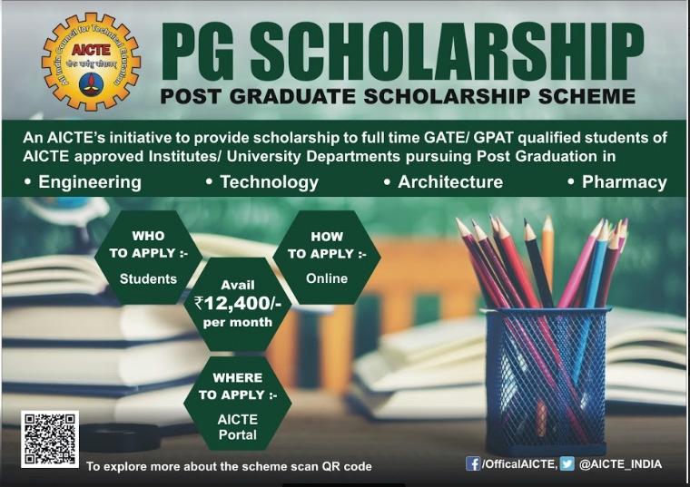 AICTE PG Scholarship