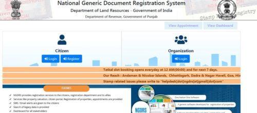 Punjab Property Registration