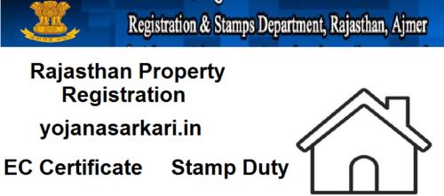 Rajasthan Property Registration