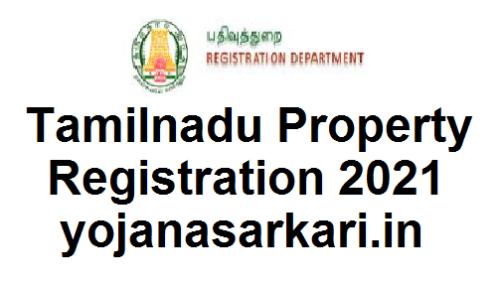 Tamil Nadu Property Registration