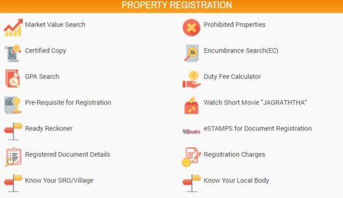 Telangana Property Registration